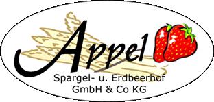 Appel Spargel- und Erdbeerhof GmbH & Co. KG Logo