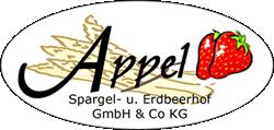 Appel Spargel- und Erdbeerhof Logo